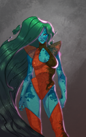 chrysocolla by UltimateTattts