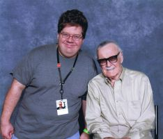 Me and Stan Lee by BUdraw-81