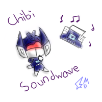 Chibi Soundwave by Cascade-Kirby