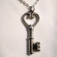 Victorian Romance Key Necklace by Om-Society