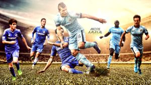 Chelsea vs Manchester City by am4r4l
