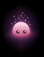 A Glowing Blob by wildgica