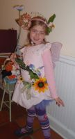 Halloween Garden Fairy by Natakiya