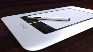 Wacom Tablet DOF test by Lance2ANIMECRAZY