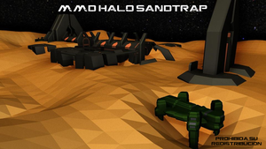 MMD Halo Sandtrap Map by jesuuss