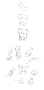 Drawing Cats With Kei by Keijuko-Ge