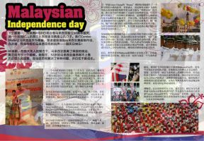 Malaysia national day by Comixo