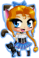 Picture Purrfect Mascot by Meip