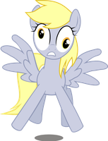 'Startled' Derpy by jessekruz