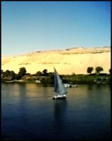 A Boat In The Nile by mido4design