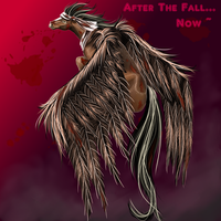 After The Fall with blood by Mikonow