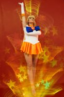 Sailor Venus Cosplay - Minako Transforms! by Kapalaka