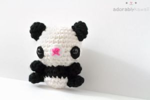 Panda Amigurumi by adorablykawaii