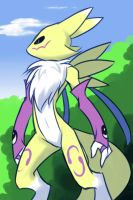Renamon distracted by drantyno