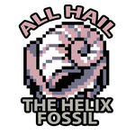 Helix Fossil Button by Twarda8