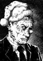 A Christmas for Putin the Zombie by HarHon