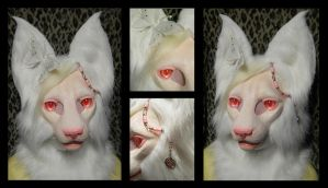 ALBINO FELINE SOLD by KandorinCreations