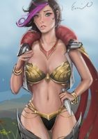 Fiora LoL - NSFW available by Geleebroetchen