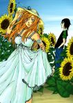 Sunflowers v2 couleur by Myrrie