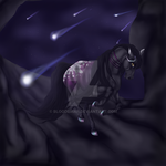 Beauty Of The Night-Lights : Comm by BlackMare234