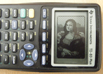 Mona Lisa on a TI-83 by asianpride7625