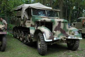 SdKfz 7 German Halftrack WW2 by BlokkStox
