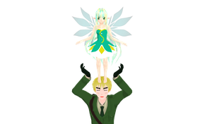 .:MMD:. England's Fairy DL by KimikoNyan26