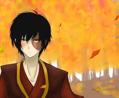 Autumn - Zuko by HetChrome