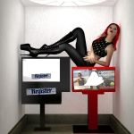 Miss Mandy Motionless (1 of 3) by blinded-dinosaur