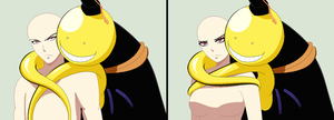 Korosensei and Oc Base by TFAfangirl14