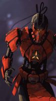 Mortal Kombat - Sektor by fear-sAs