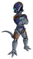 Full Metal Frieza by RobertoVile