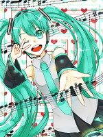 Happy 6th Birthday Hatsune Miku! by Winepyon