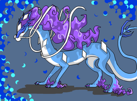 suicune by Wind21