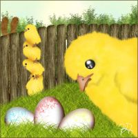Frohe Ostern - Happy Easter by teufelchenonline