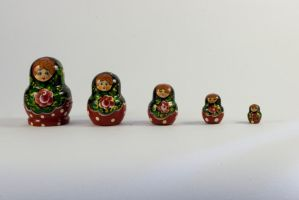 Russian Dolls 1 by joannastar-stock