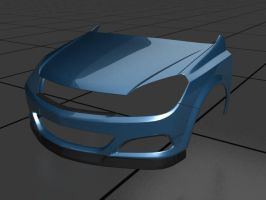 Opel Astra 3 WIP by prox3h