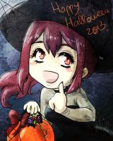 Happy Halloween from Gou-chan! by Nia-Neko