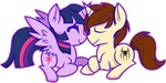 Twilight Sparkle x Peter Parker- Adorable Dorks by Jamal2504