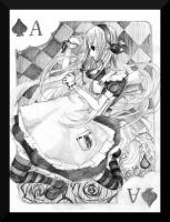 .: Ace of Spades - Alice :. by The-Crowned