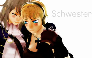 Schwester by Ask-MMD-FemPrussia
