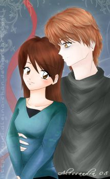 Bella and Edward by Aleccha