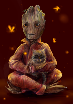 I am Groot by Unycronk