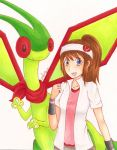 A Girl and her Flygon by Fishenod