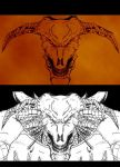 Icon of Sin concept art by revility