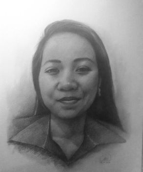 portrait of my client by wahsyuck