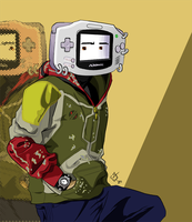 Gameboy AdVance by ninjaisonfire