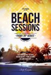 Beach Sessions Flyer by styleWish
