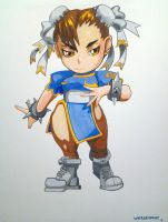 Super Puzzle Fighter Chun Li by SourEasel