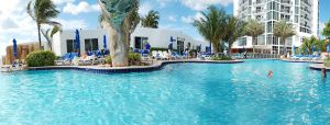 Swimming pool, miami by LadyMartist
